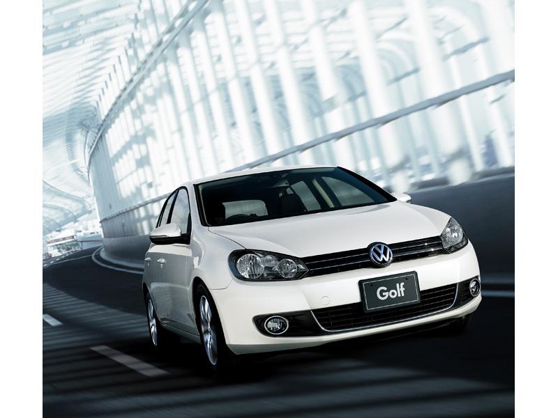 『走行イメージ キャンディホワイト』 ゴルフ 2009年モデル の製品画像