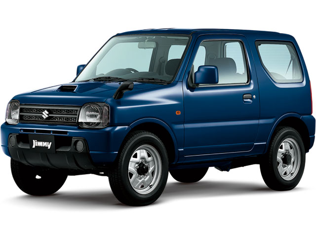 スズキ ジムニー 1998年モデル 新車画像