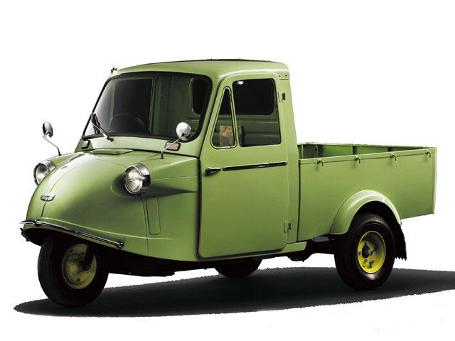 ダイハツ ミゼット 1957年モデル 新車画像