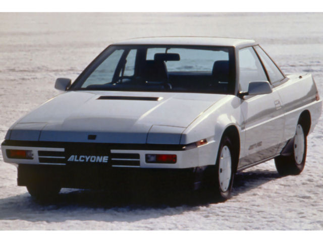 スバル アルシオーネ 1985年モデル 新車画像