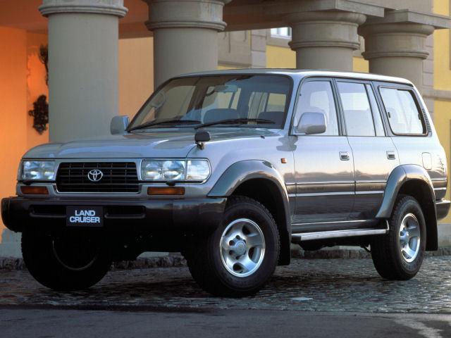 トヨタ ランドクルーザー80 2000年以前のモデル 新車画像
