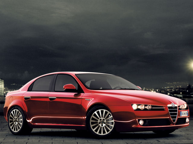 アルファロメオ 159 セダン 2006年モデル 新車画像