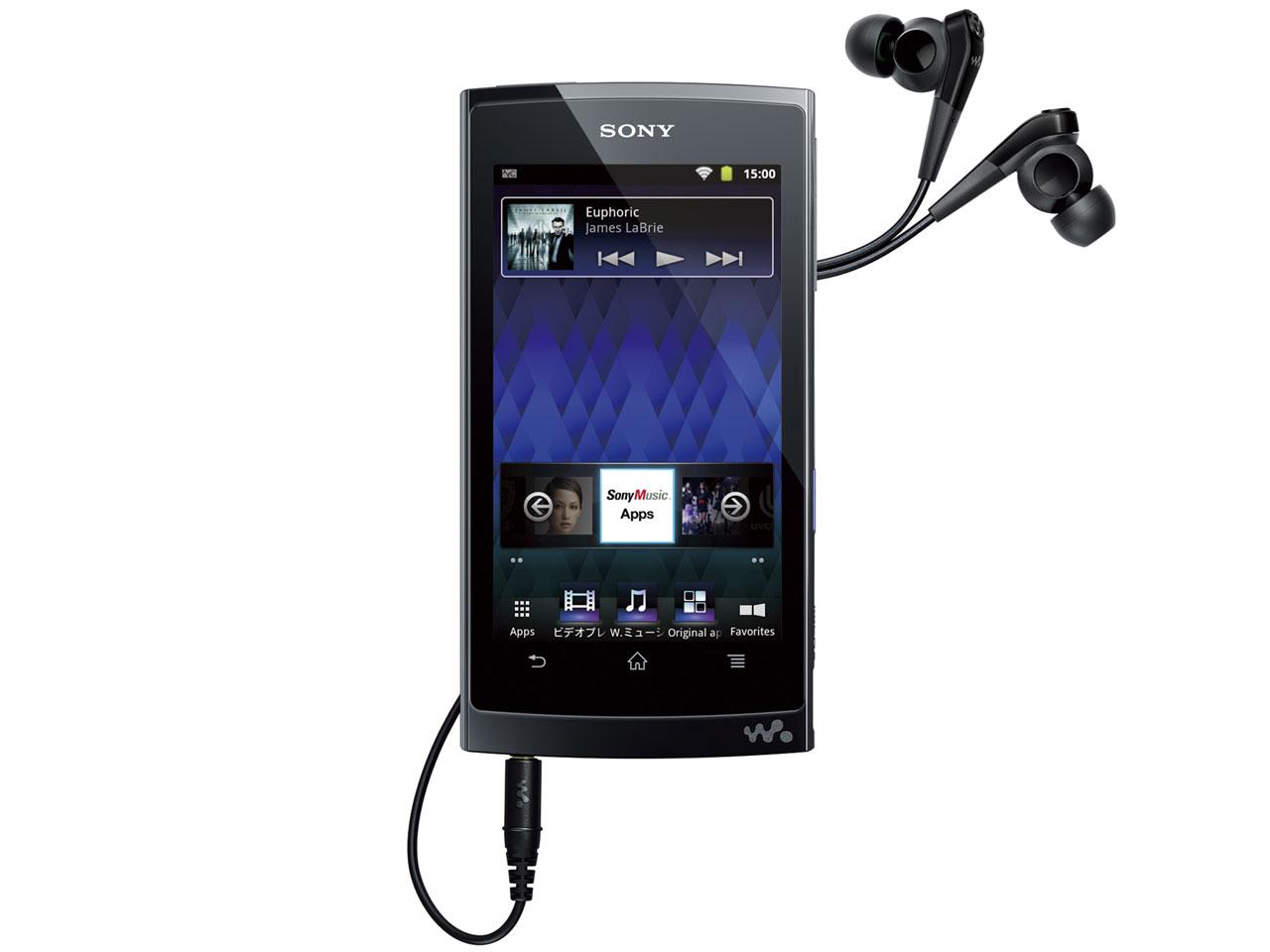NW-Z1070 (B) [64GB ブラック] の製品画像