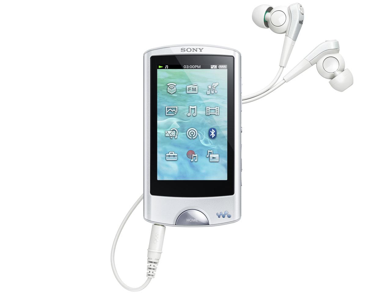 NW-A867 (W) [64GB ホワイト] の製品画像