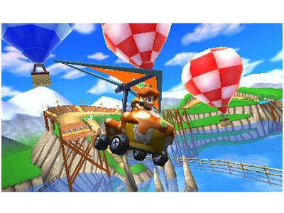 『画面イメージ4』 マリオカート7 の製品画像