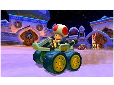 『画面イメージ5』 マリオカート7 の製品画像