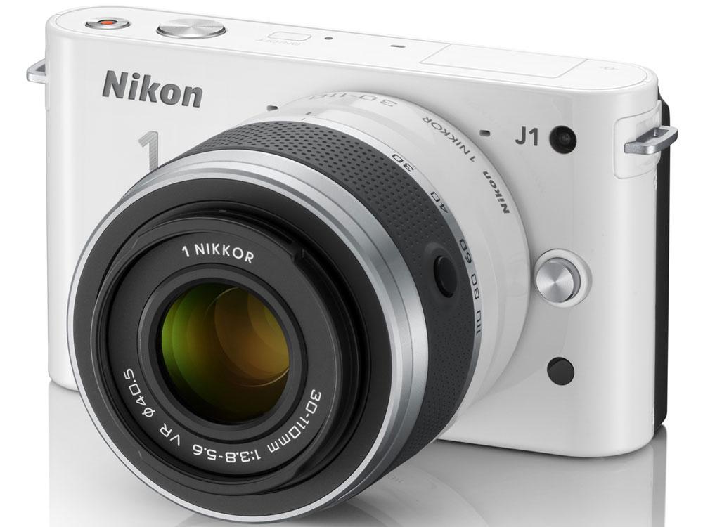 Nikon 1 J1 ダブルズームキット [ホワイト] の製品画像