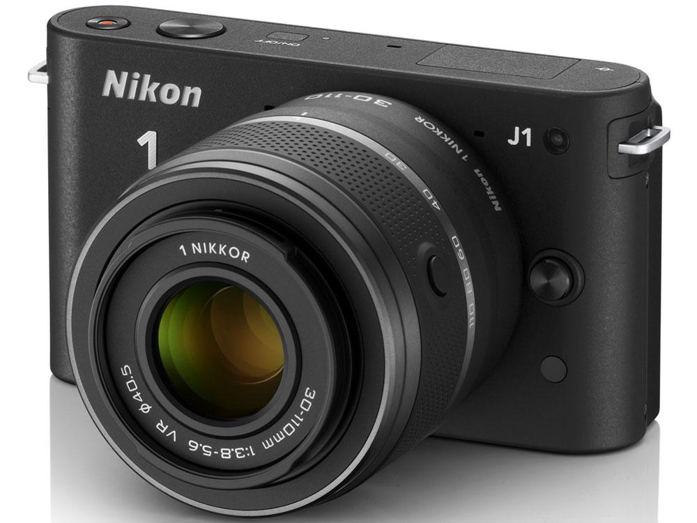 Nikon 1 J1 ダブルズームキット [ブラック] の製品画像