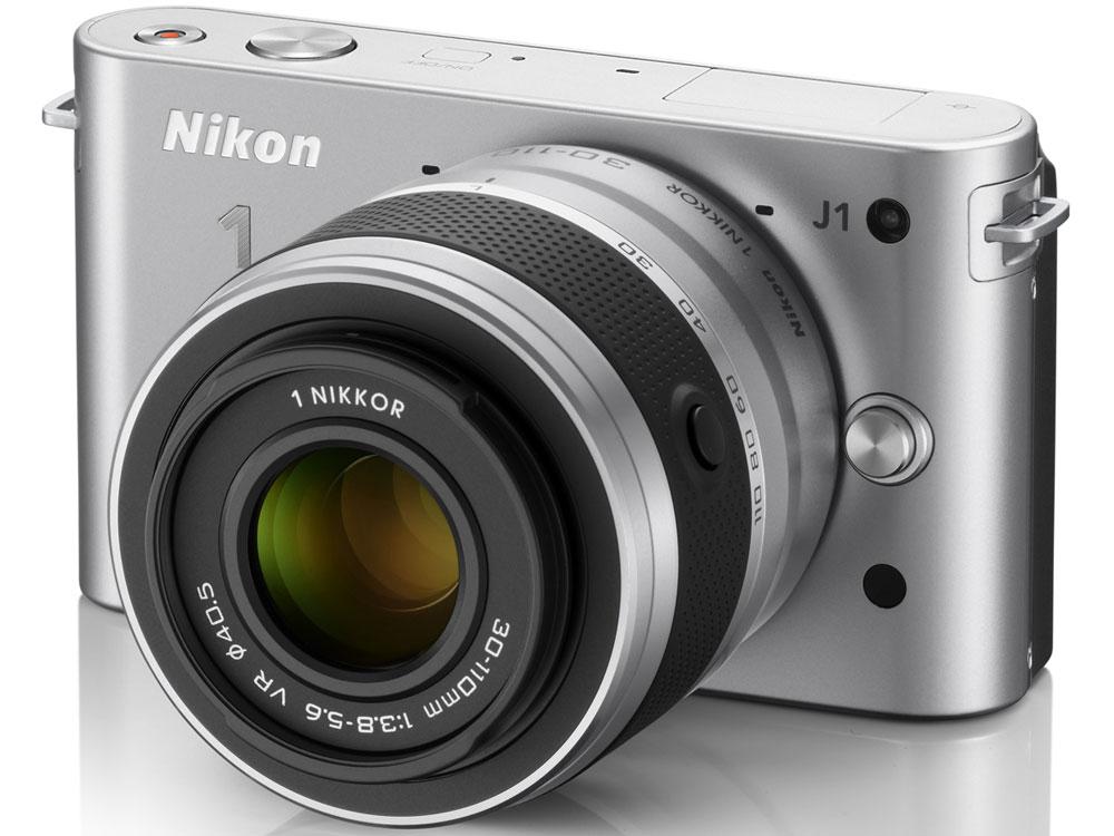 Nikon 1 J1 ダブルズームキット [シルバー] の製品画像