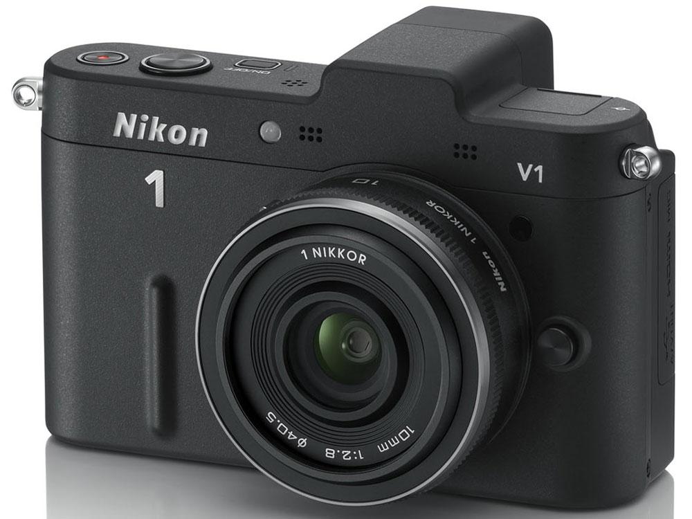 Nikon 1 V1 薄型レンズキット [ブラック] の製品画像