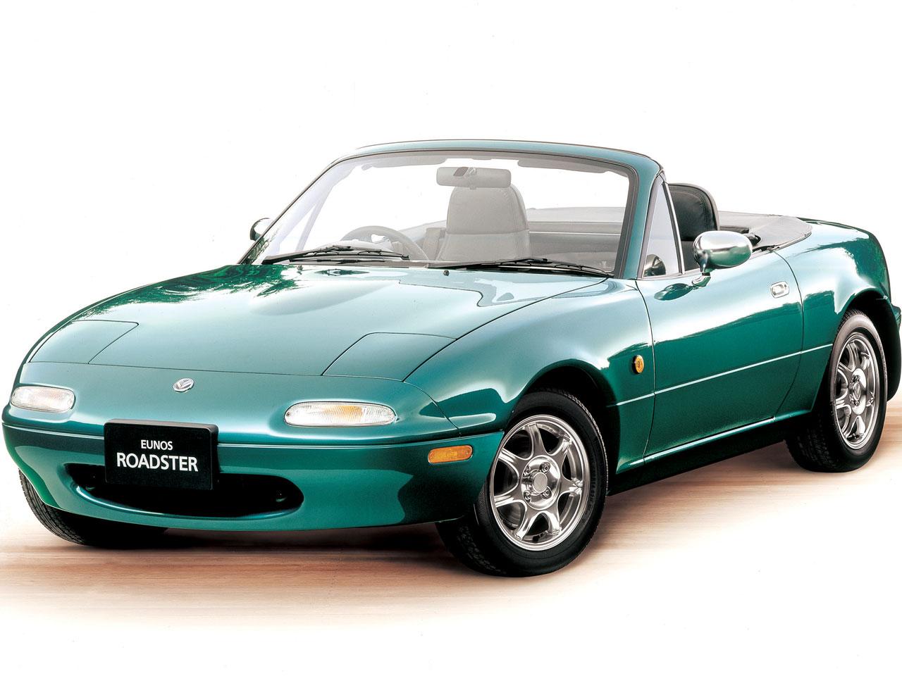 マツダ ロードスター 1989年モデル 新車画像