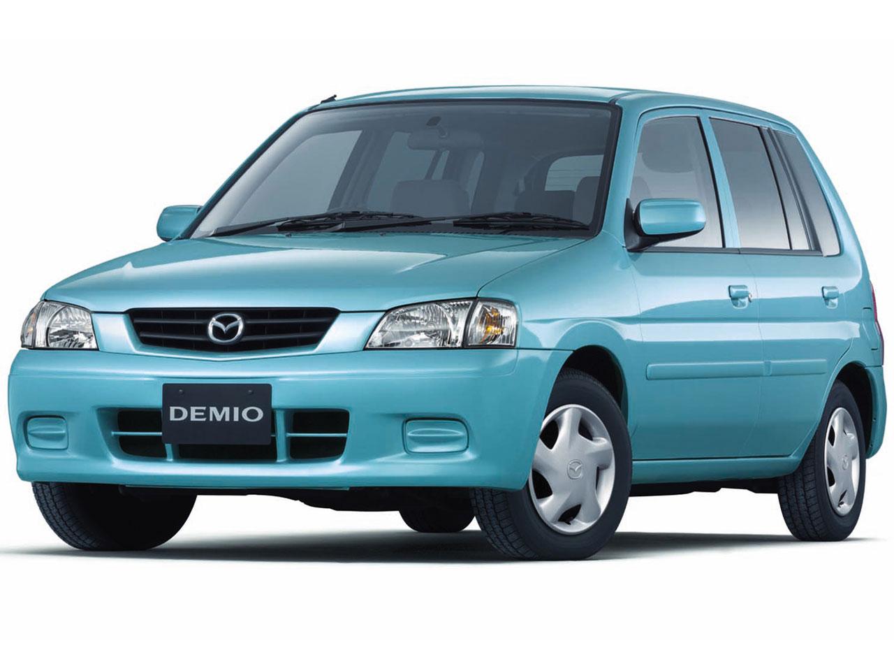 マツダ デミオ 1996年モデル 新車画像