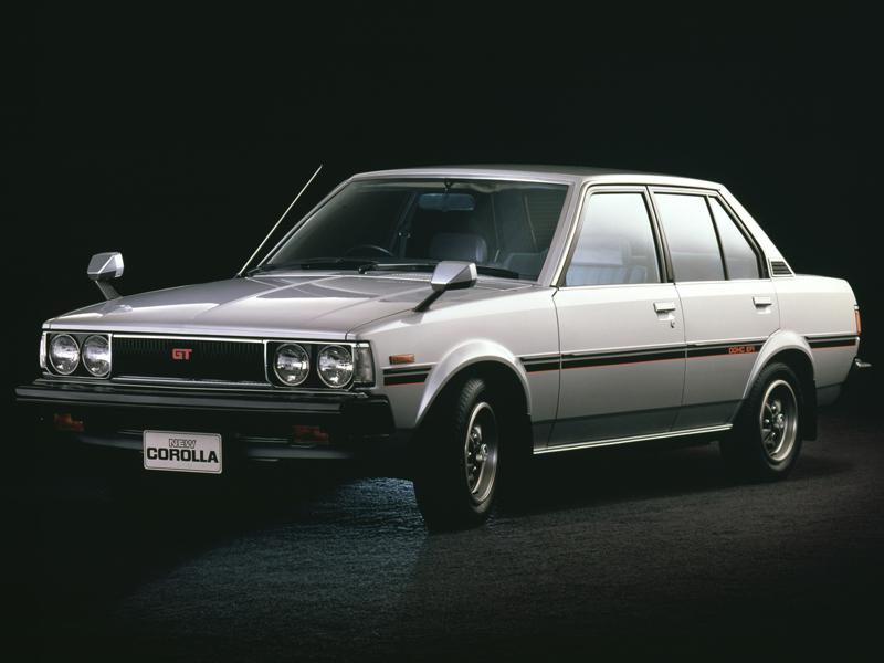 トヨタ カローラ 1979年モデル 新車画像