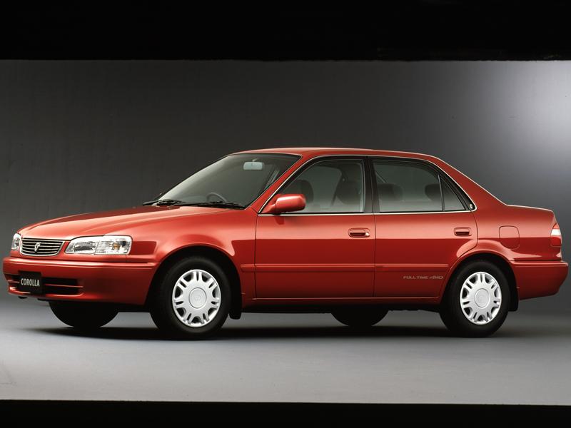 トヨタ カローラ 1995年モデル 新車画像