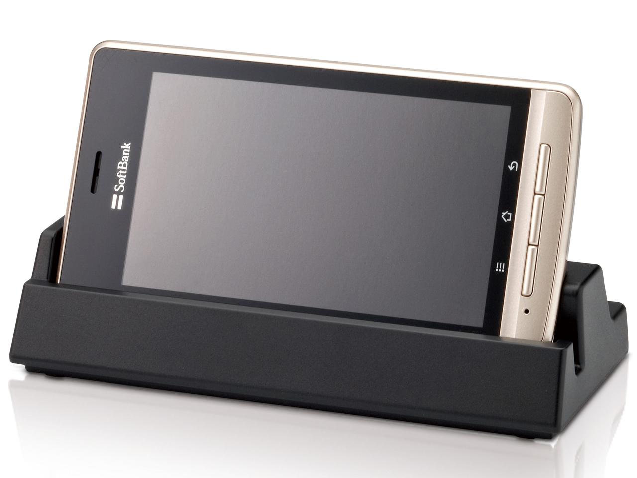 『本体 正面2』 LUMIX Phone 101P SoftBank [メロウゴールド] の製品画像