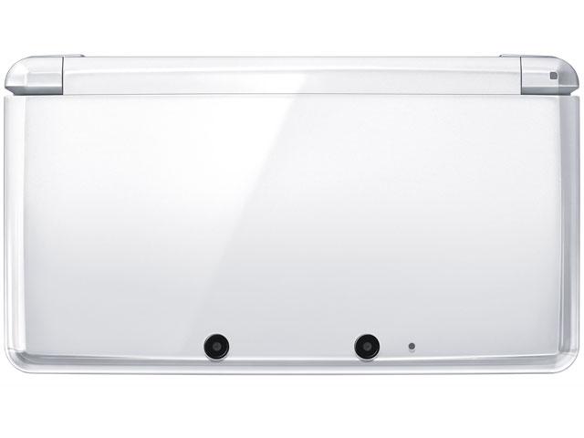 『本体 正面』 ニンテンドー3DS アイスホワイト の製品画像