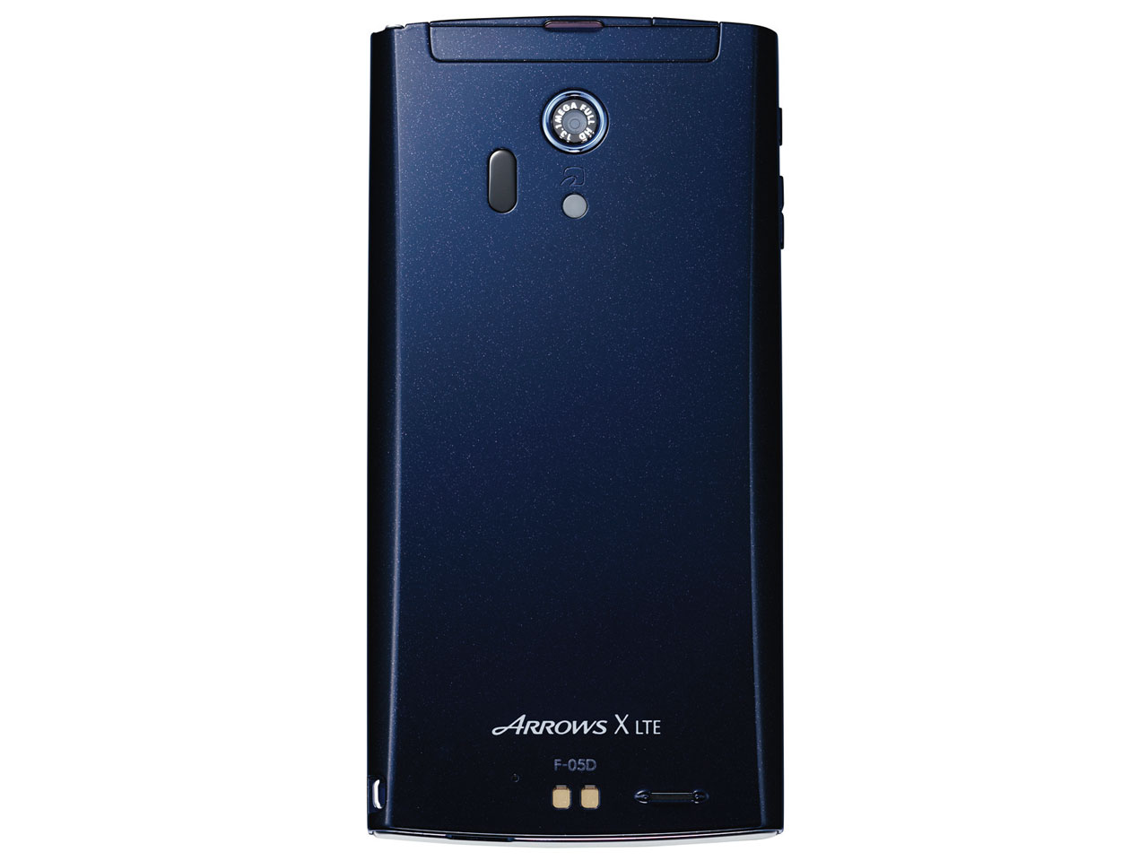 『本体 背面』 ARROWS X LTE F-05D docomo [Blue Black] の製品画像