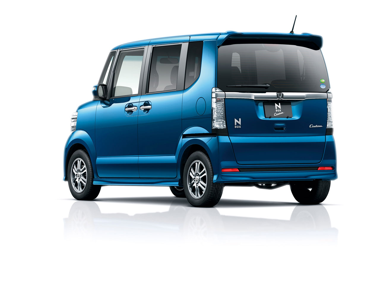 『エクステリア プレミアムダイナミックブルー・パール1』 N-BOX カスタム 2011年モデル の製品画像