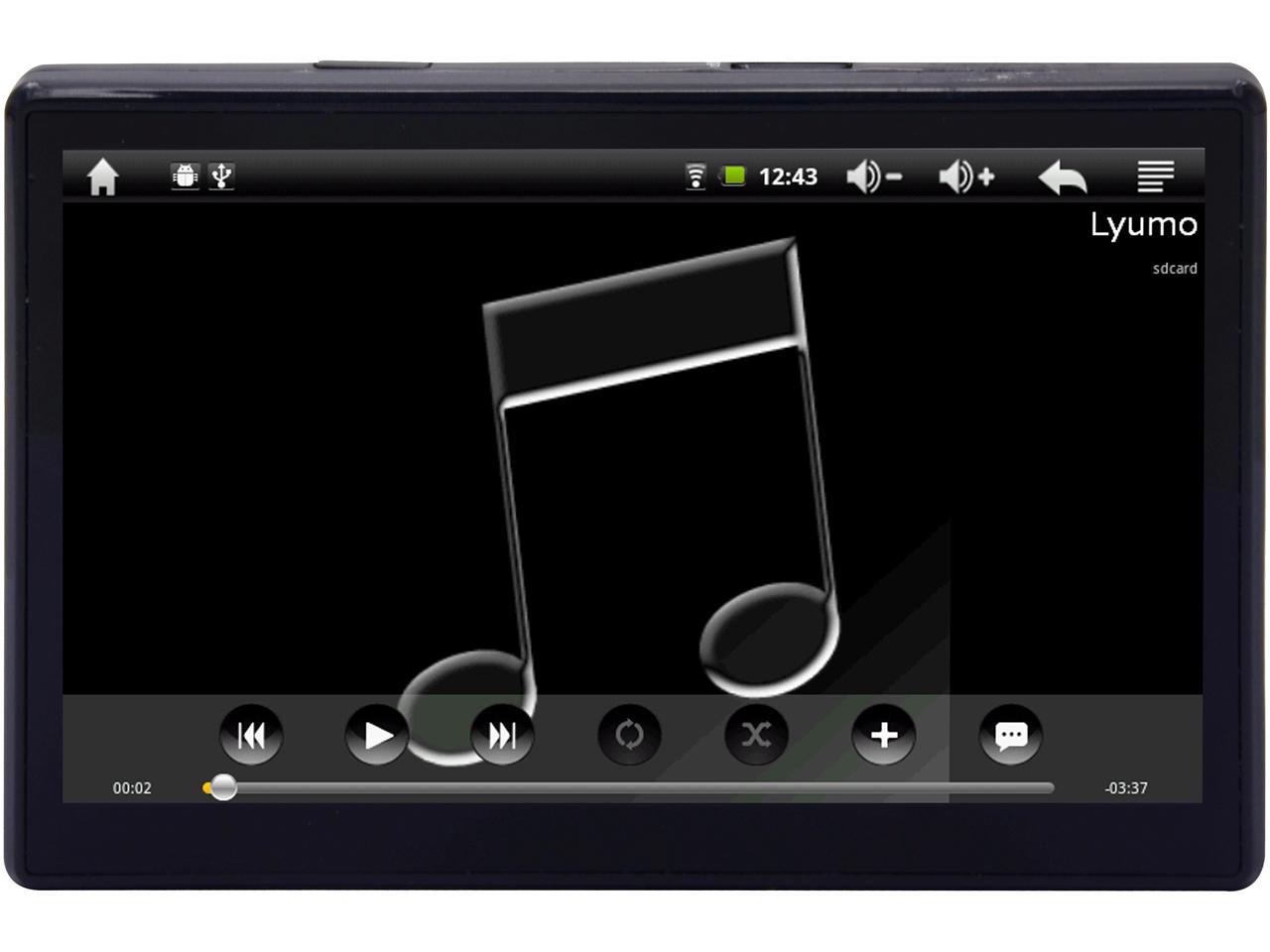 Lyumo AD501 [ブラック] の製品画像