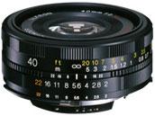 フォクトレンダー ULTRON 40mm F2 SLII N Aspherical [キヤノン用] の製品画像