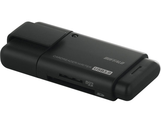 BSCRD04U3BK [USB 30in1 ブラック] の製品画像