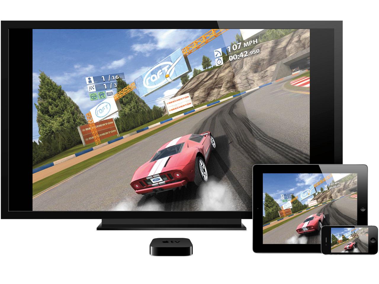 『画面イメージ』 Apple TV MD199J/A の製品画像