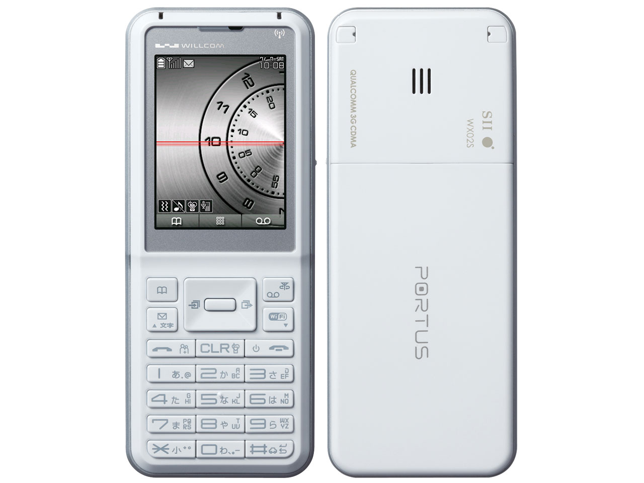 PORTUS WX02S [ホワイト] の製品画像