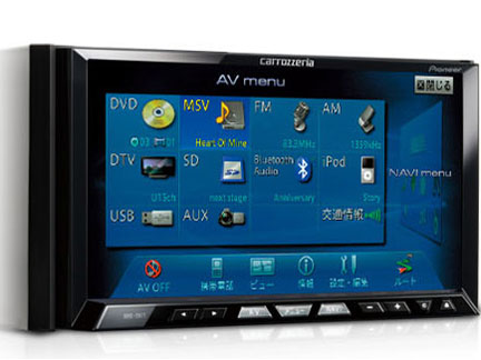 サイバーナビ AVIC-ZH77 の製品画像