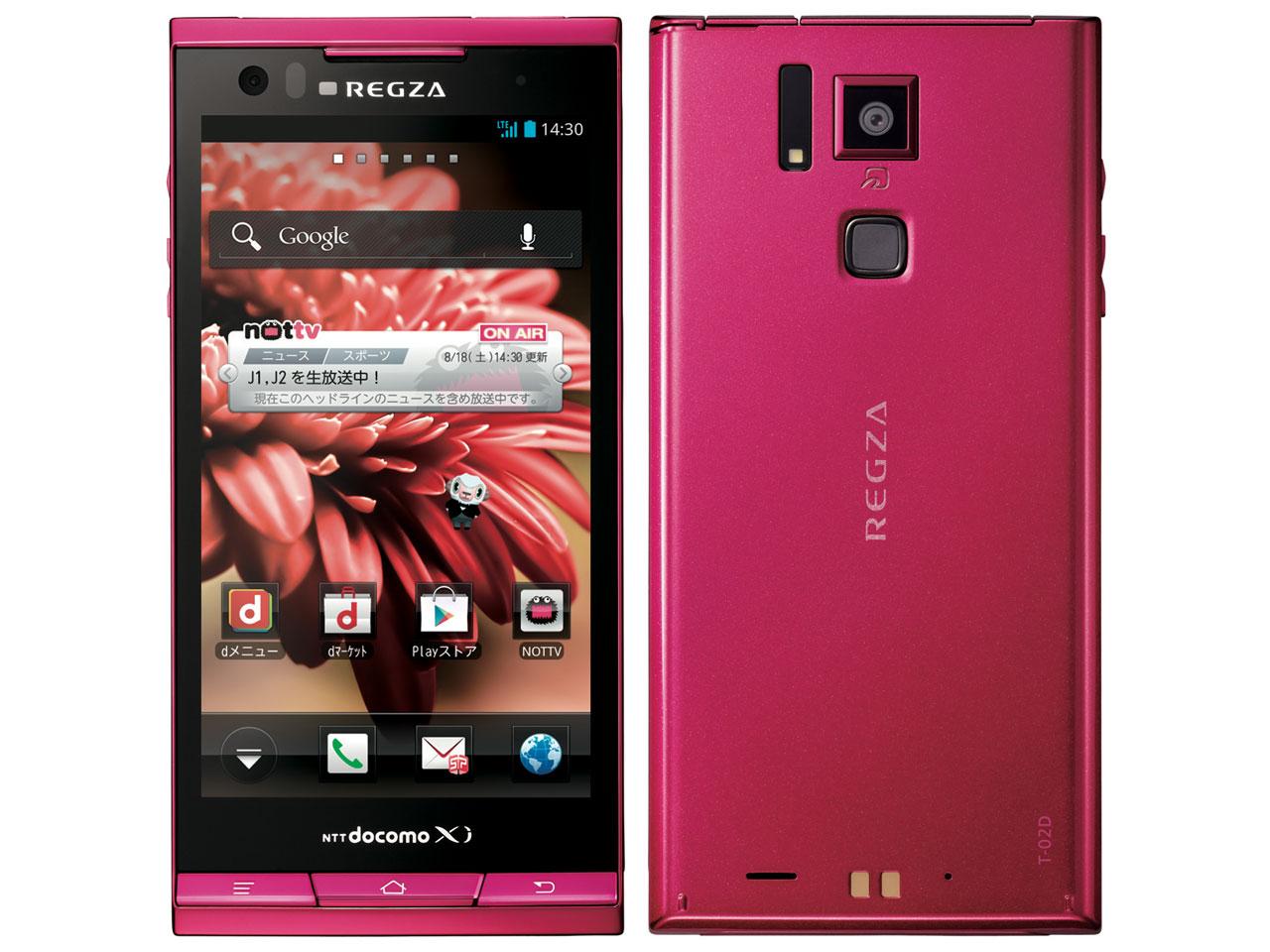価格.com - REGZA Phone T-02D d...