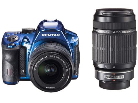 PENTAX K-30 ダブルズームキット [クリスタルブルー] の製品画像