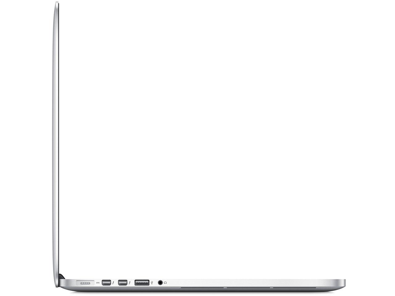 『本体 左側面』 MacBook Pro 2300/15 MC975J/A の製品画像