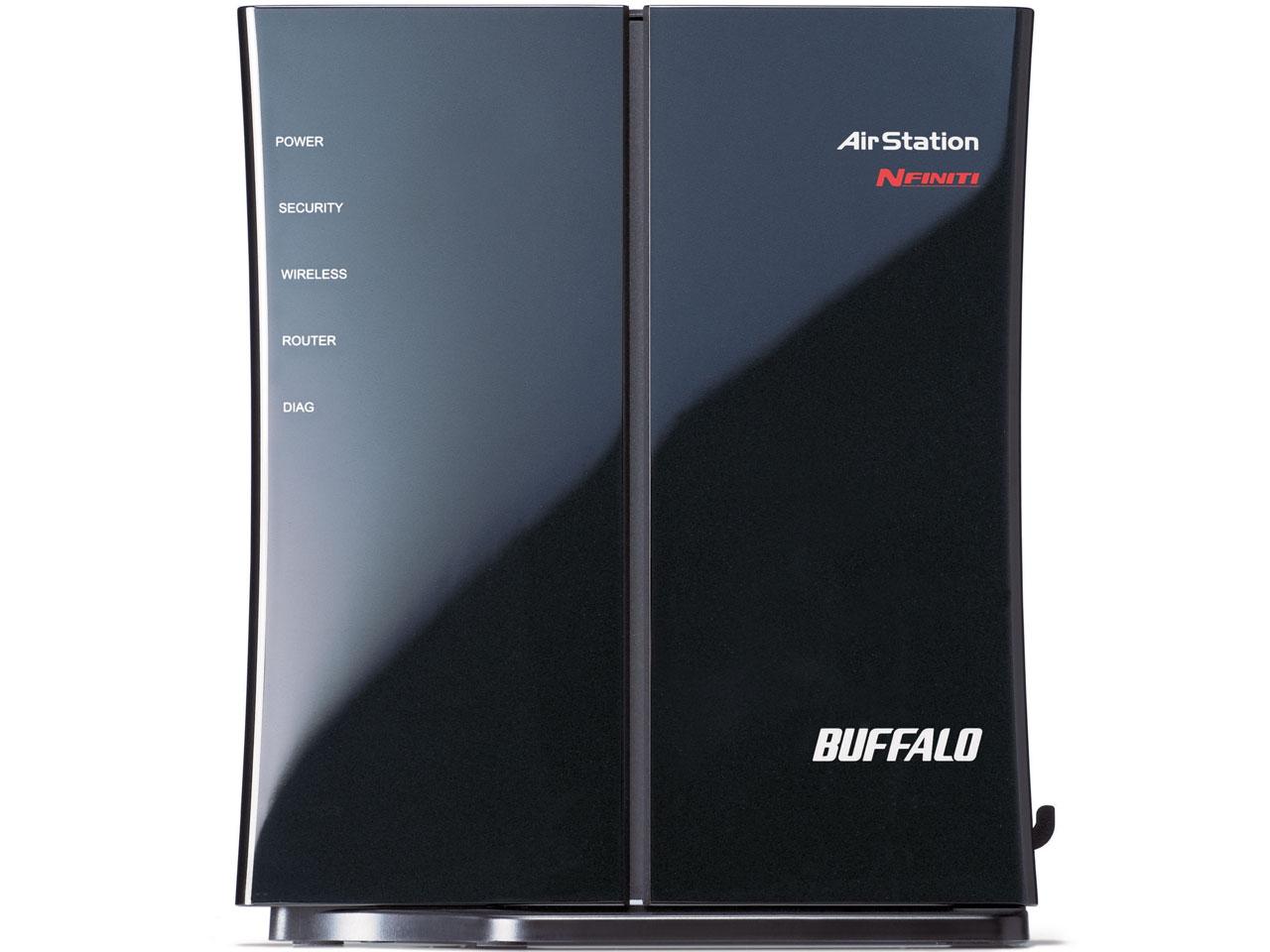 『本体 右側面2』 AirStation NFINITI WHR-G301N/N の製品画像