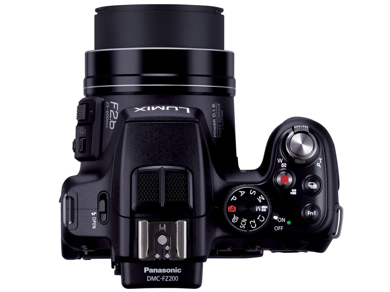 『本体 上面』 LUMIX DMC-FZ200 の製品画像