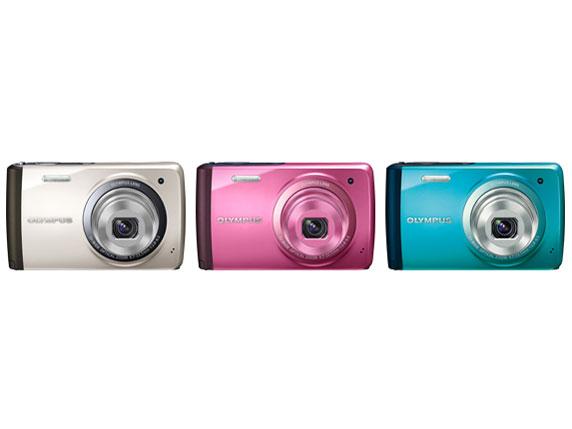 『カラーバリエーション』 OLYMPUS STYLUS VH-410 [ピンク] の製品画像