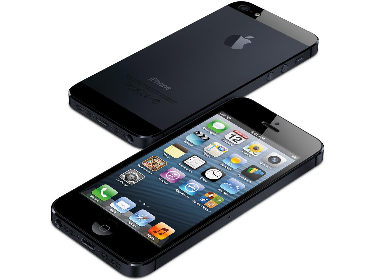 『本体』 iPhone 5 64GB SoftBank [ブラック&スレート] の製品画像