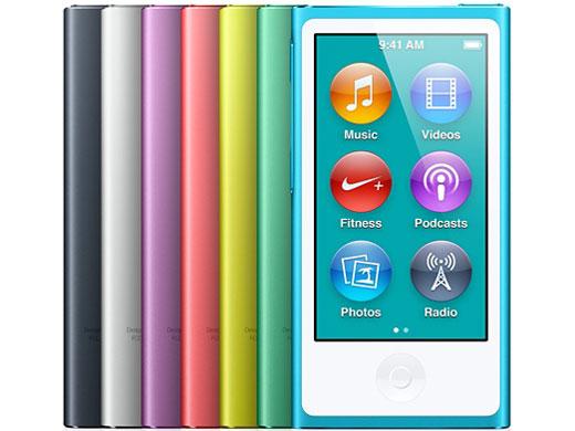 『カラーバリエーション3』 iPod nano MD481J/A [16GB スレート] の製品画像