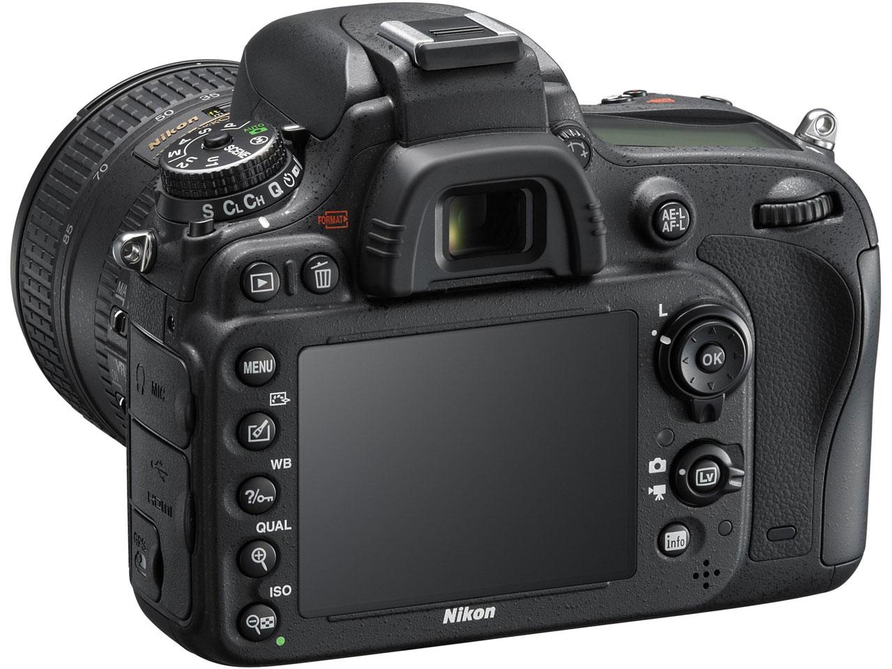 『本体 背面2』 D600 24-85 VRレンズキット の製品画像