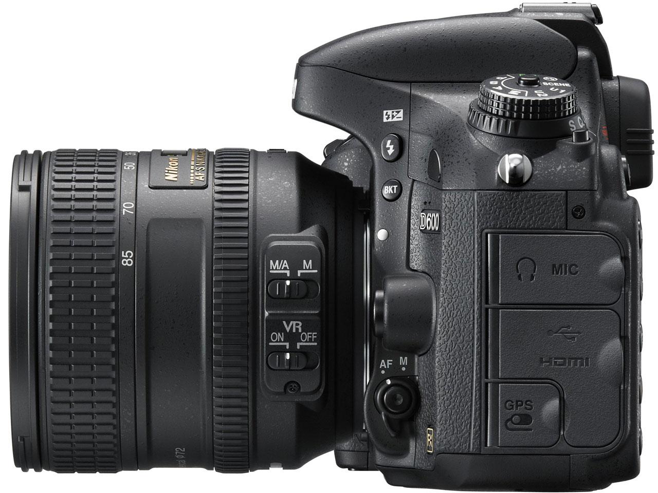 『本体 右側面』 D600 24-85 VRレンズキット の製品画像