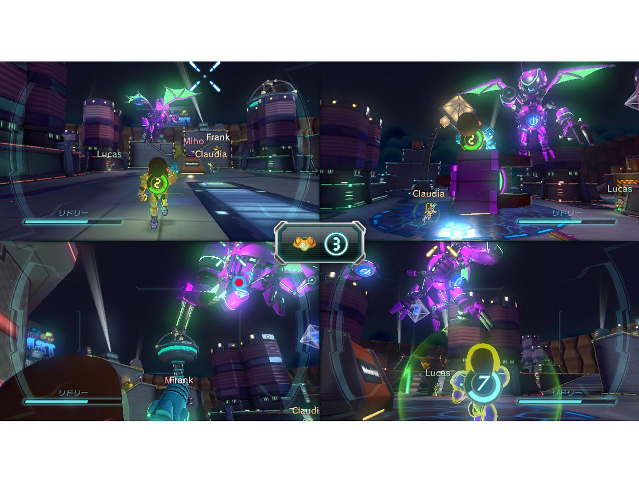 『画面イメージ9』 Nintendo Land の製品画像