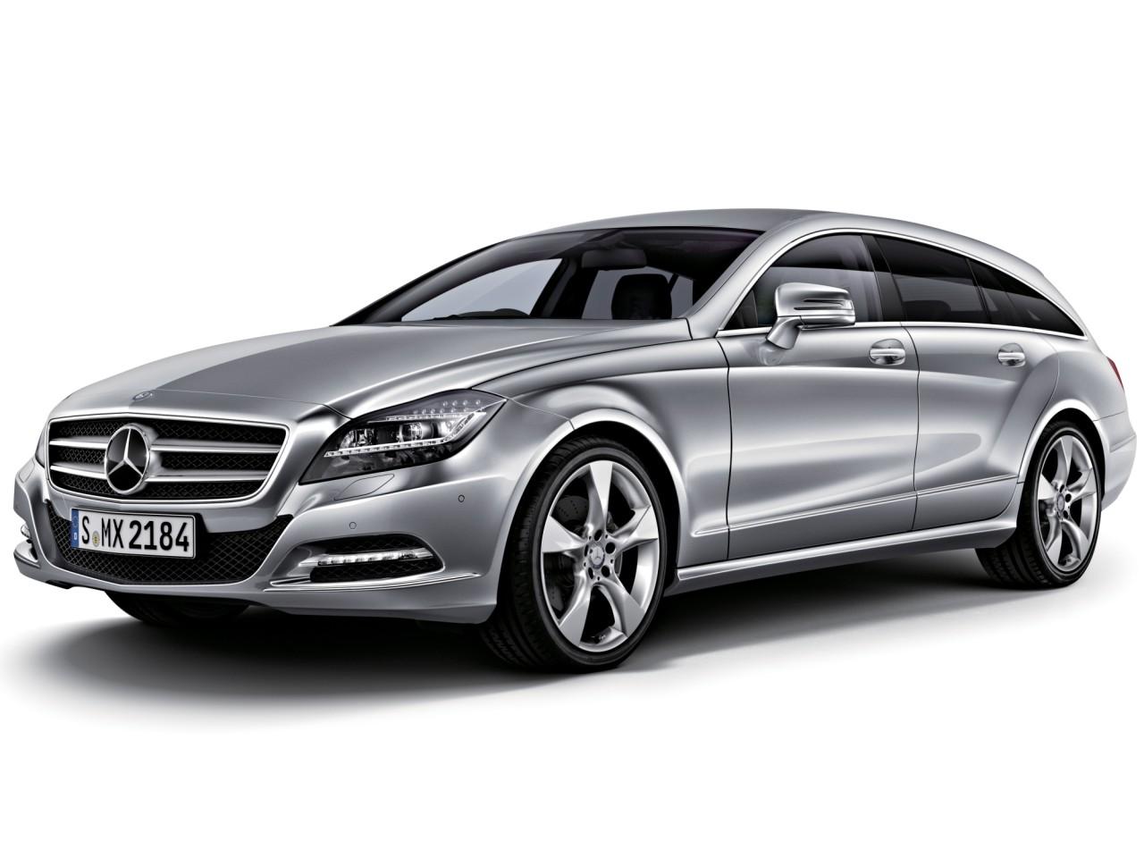 メルセデス・ベンツ CLSクラス シューティングブレーク 2012年モデル 新車画像
