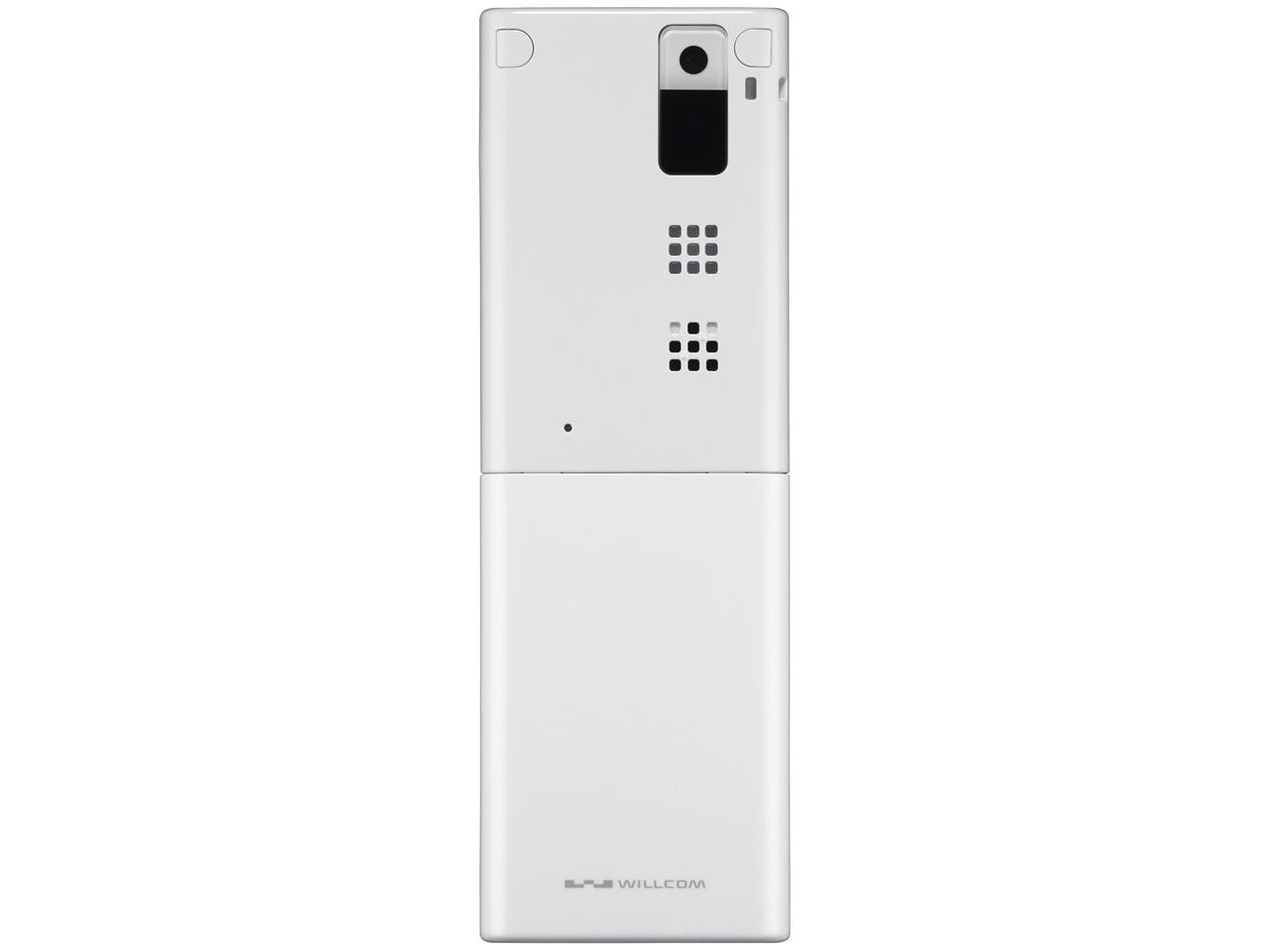 『本体 背面』 HONEY BEE 5 WX07K [ホワイト&ホワイト] の製品画像