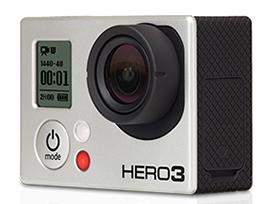 『本体 正面 斜め』 HERO3 Black Edition CHDHX-301-JP の製品画像