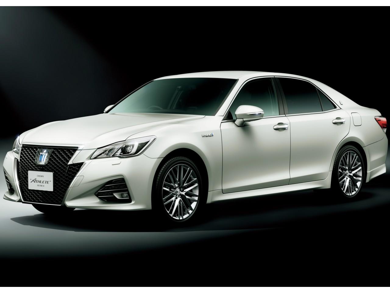 トヨタ クラウン アスリート ハイブリッド 2012年モデル 新車画像