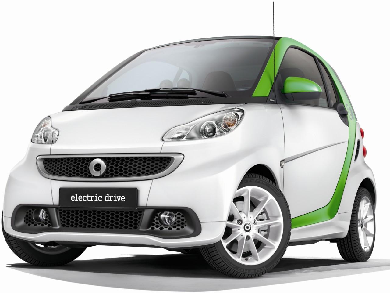 スマート フォーツー エレクトリックドライブ 2012年モデル 新車画像