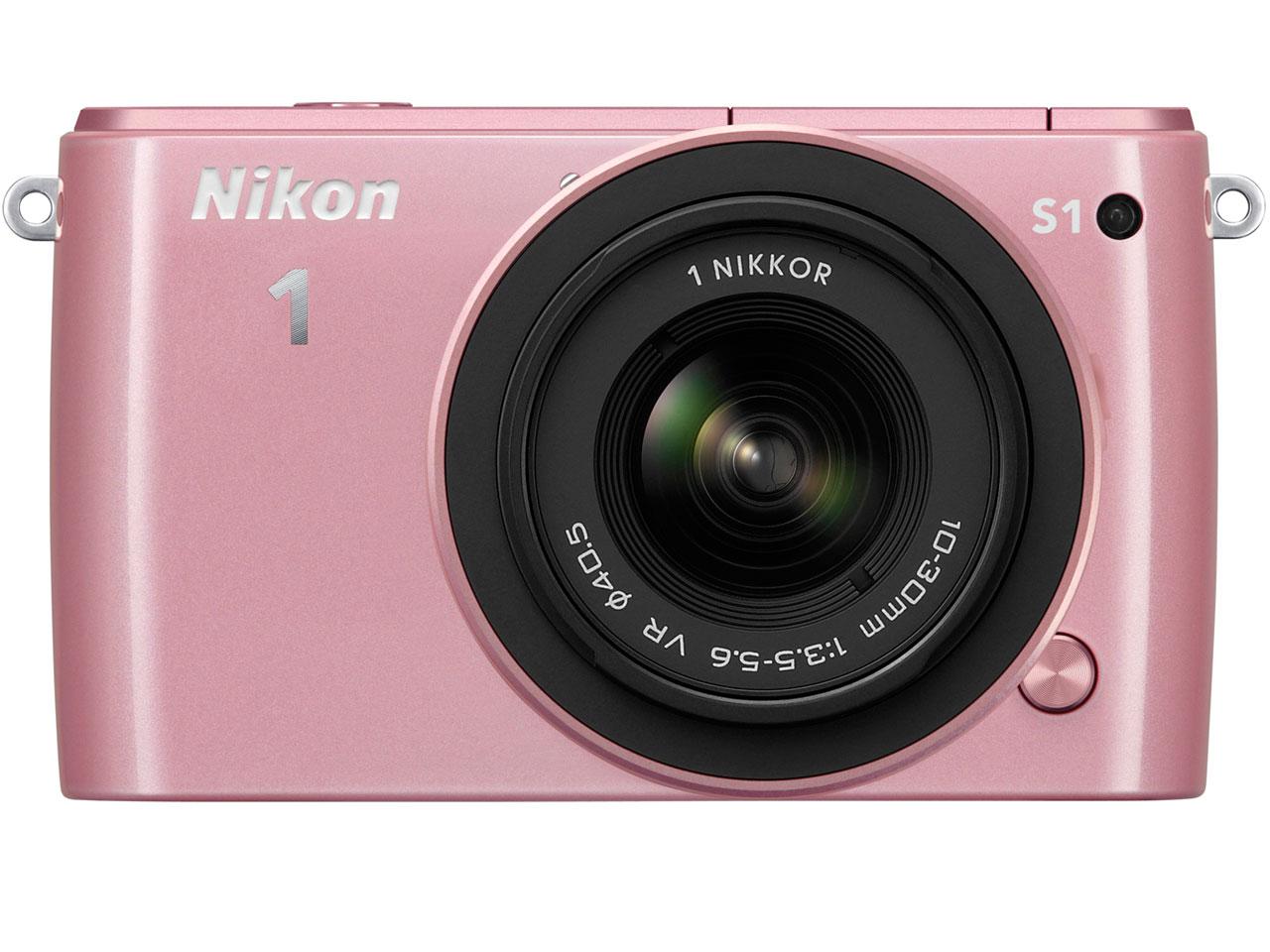 Nikon 1 S1 標準ズームレンズキット [ピンク] の製品画像