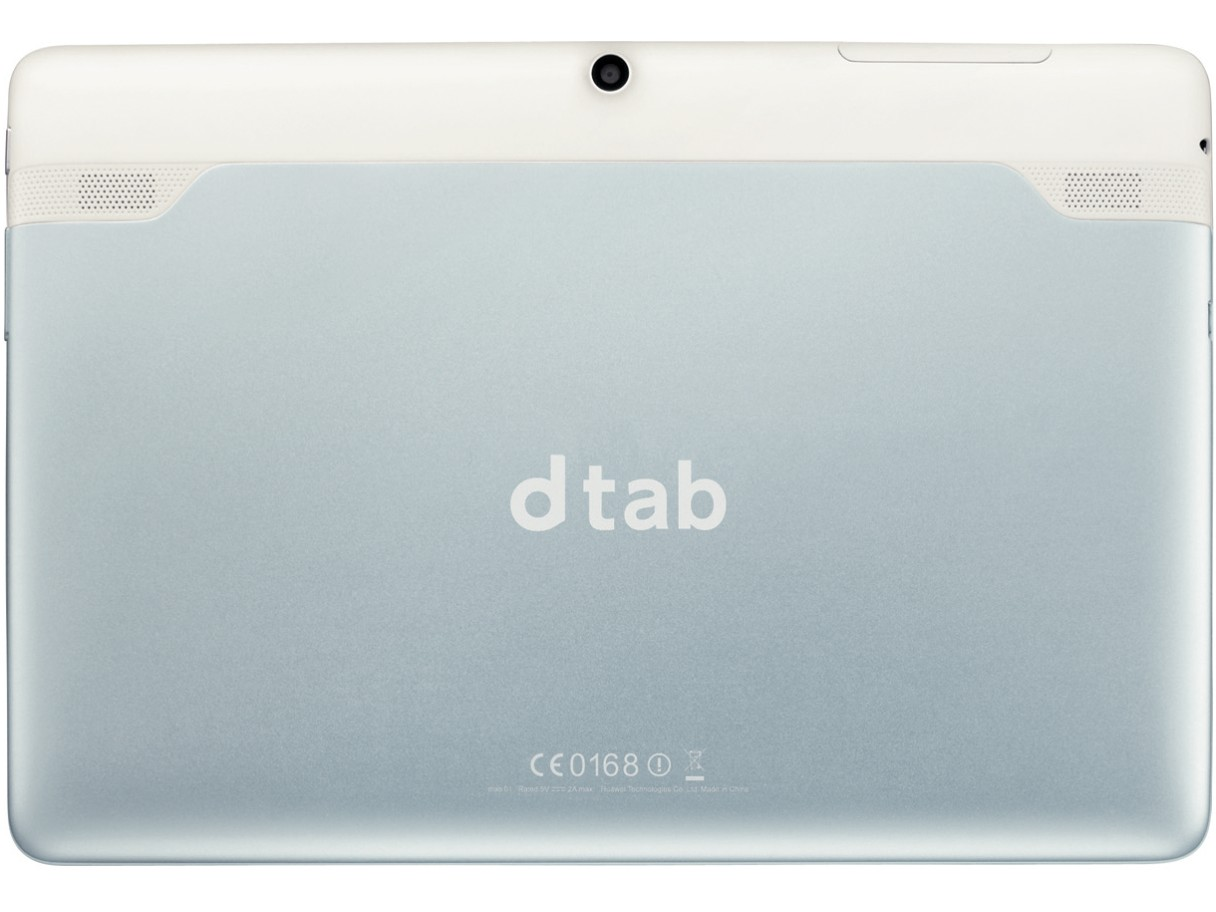 『背面』 dtab docomo の製品画像