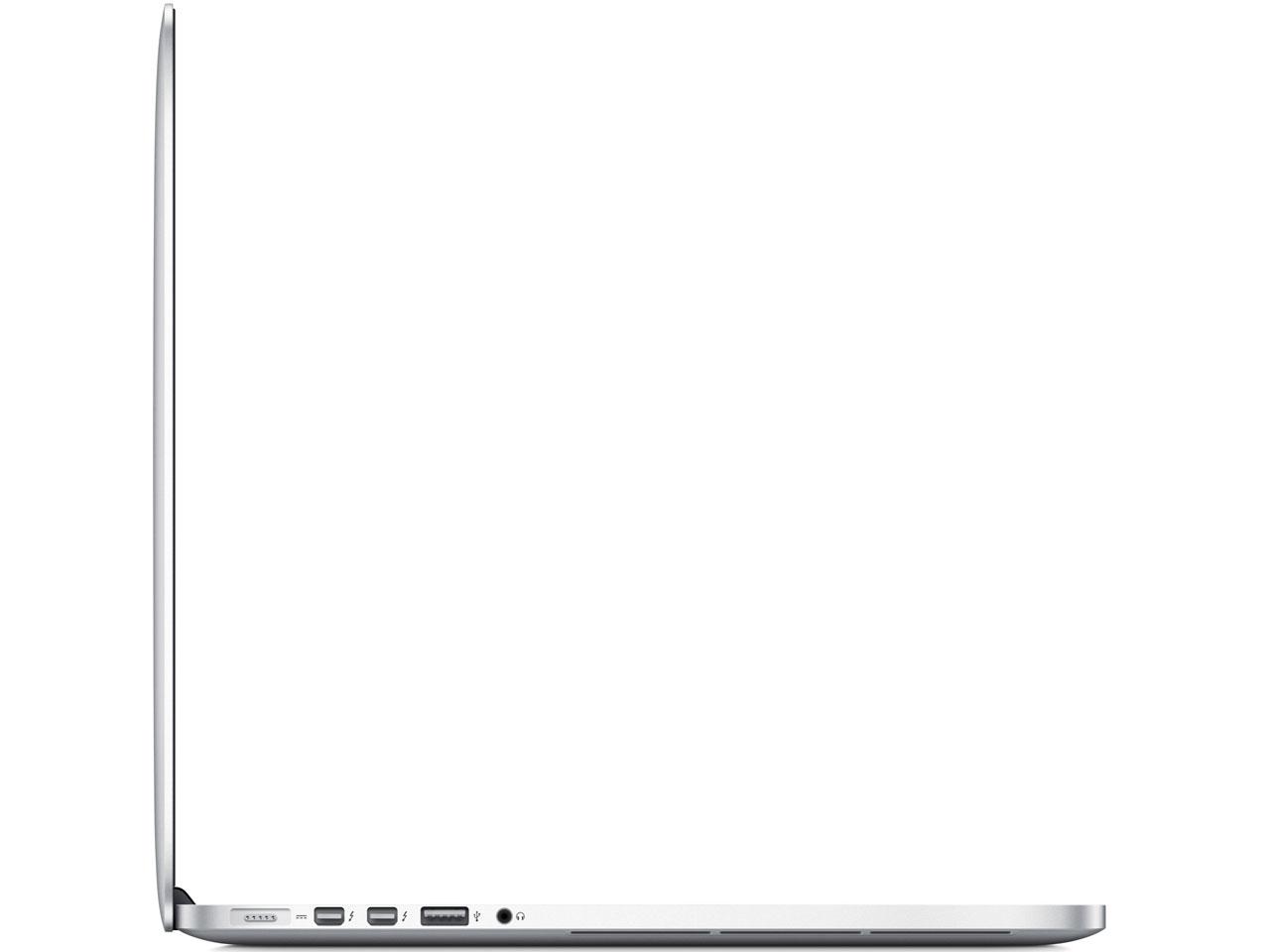 『本体 左側面』 MacBook Pro Retinaディスプレイ 2700/15.4 ME665J/A の製品画像