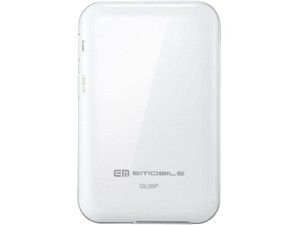 『本体 背面』 Pocket WiFi LTE GL05P [ホワイト] の製品画像