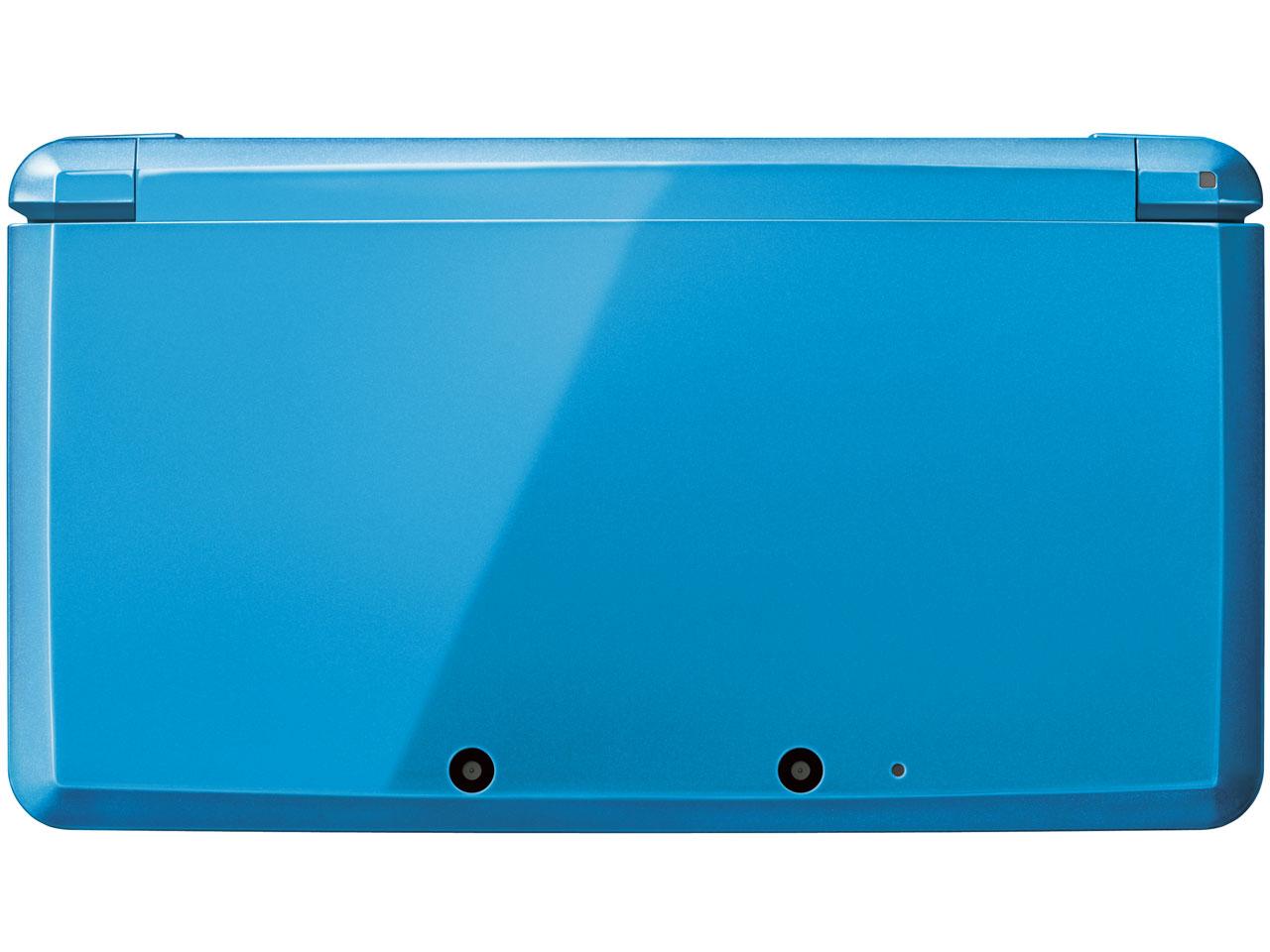 『本体 上面』 ニンテンドー3DS ライトブルー の製品画像