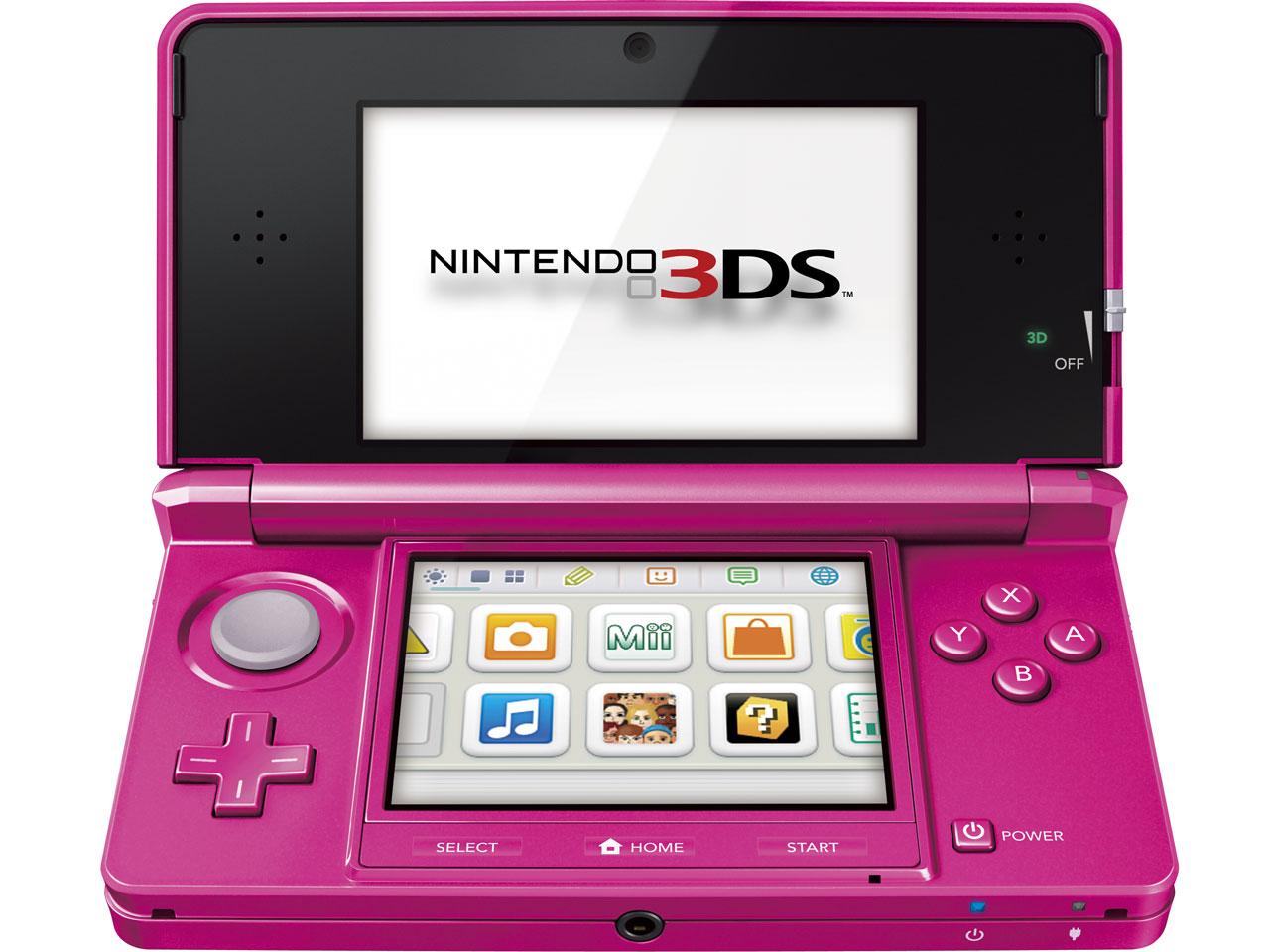 ニンテンドー3DS グロスピンク の製品画像